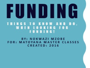 Things To Know And Do When Looking For Funding